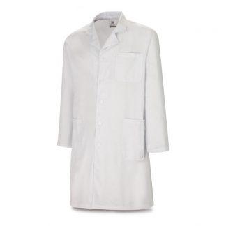 Bata manga larga blanca