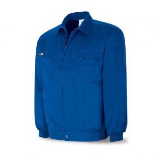 Cazadora laboral algodon azulina