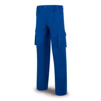Pantalon algodon azulina