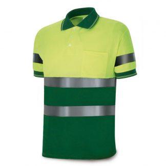 Polo AV verde amarillo
