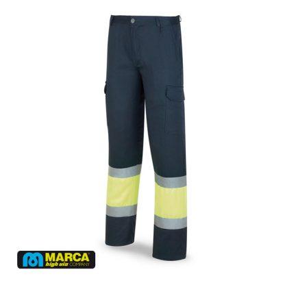 Pantalon alta visibilidad mixto